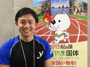 堀田和久さん(大会当日表彰後の写真)
